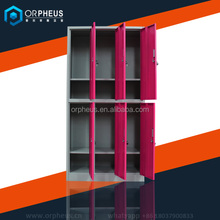 2 Tier Storage Furniture School Locker China Supplier School Used 6 Compartment Student Storage Laptop Locker Cabinets