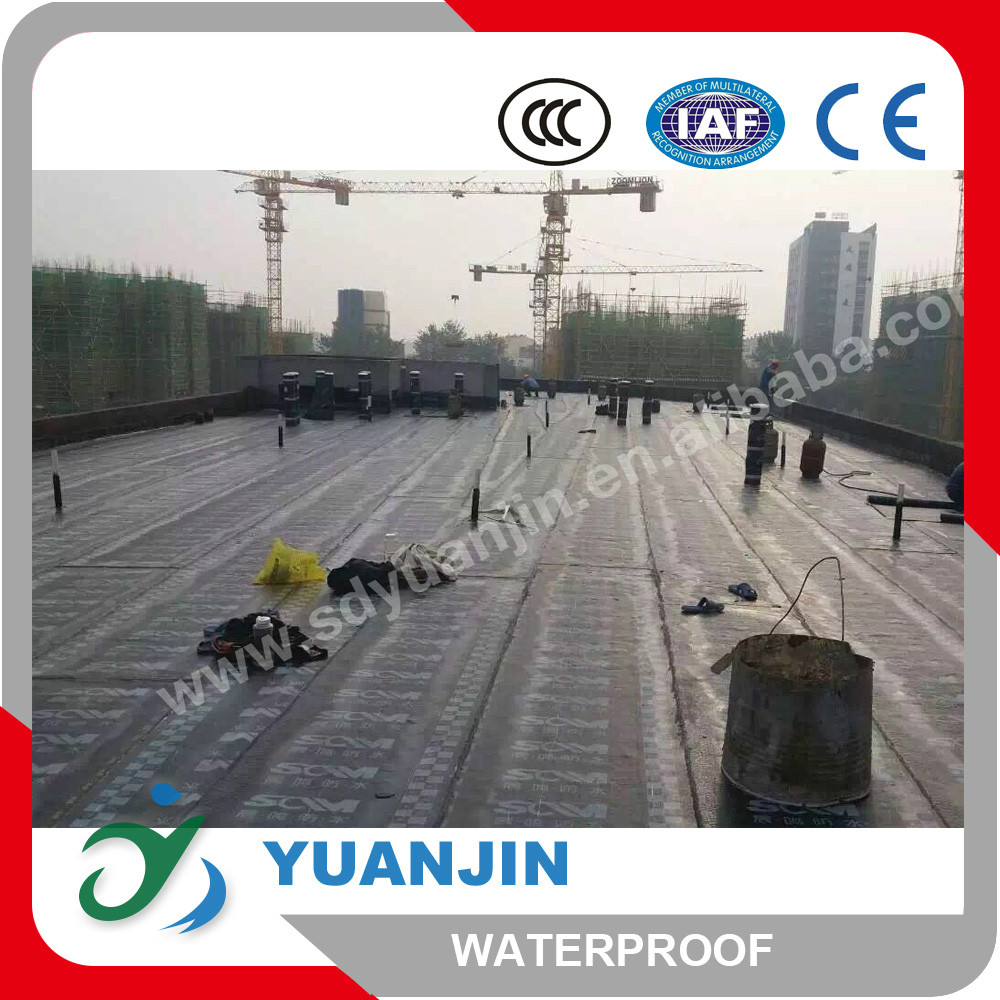 2m width Fiberglass reinforced Polyester based bituminous roofing sheets