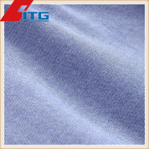 "TC YARN DYED 60/40 Poly Combed Cotton 100DXC21/2 150gsm 59/60"" cotton tecido oxford cloth fabric"