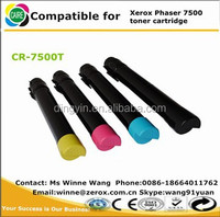 Equipment for refilling cartridges X-erox work center compatible for X-erox Phaser 7500 Toner cartridge with copier powder