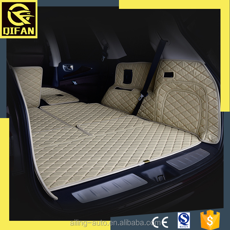 environment protection easy cleaning car trunk mat auto mats