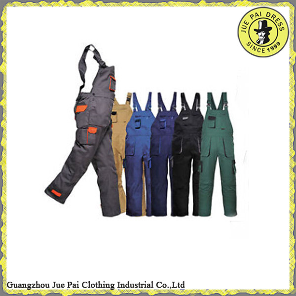 HOT SALE!!! workwear bib pant, workers overall uniforms