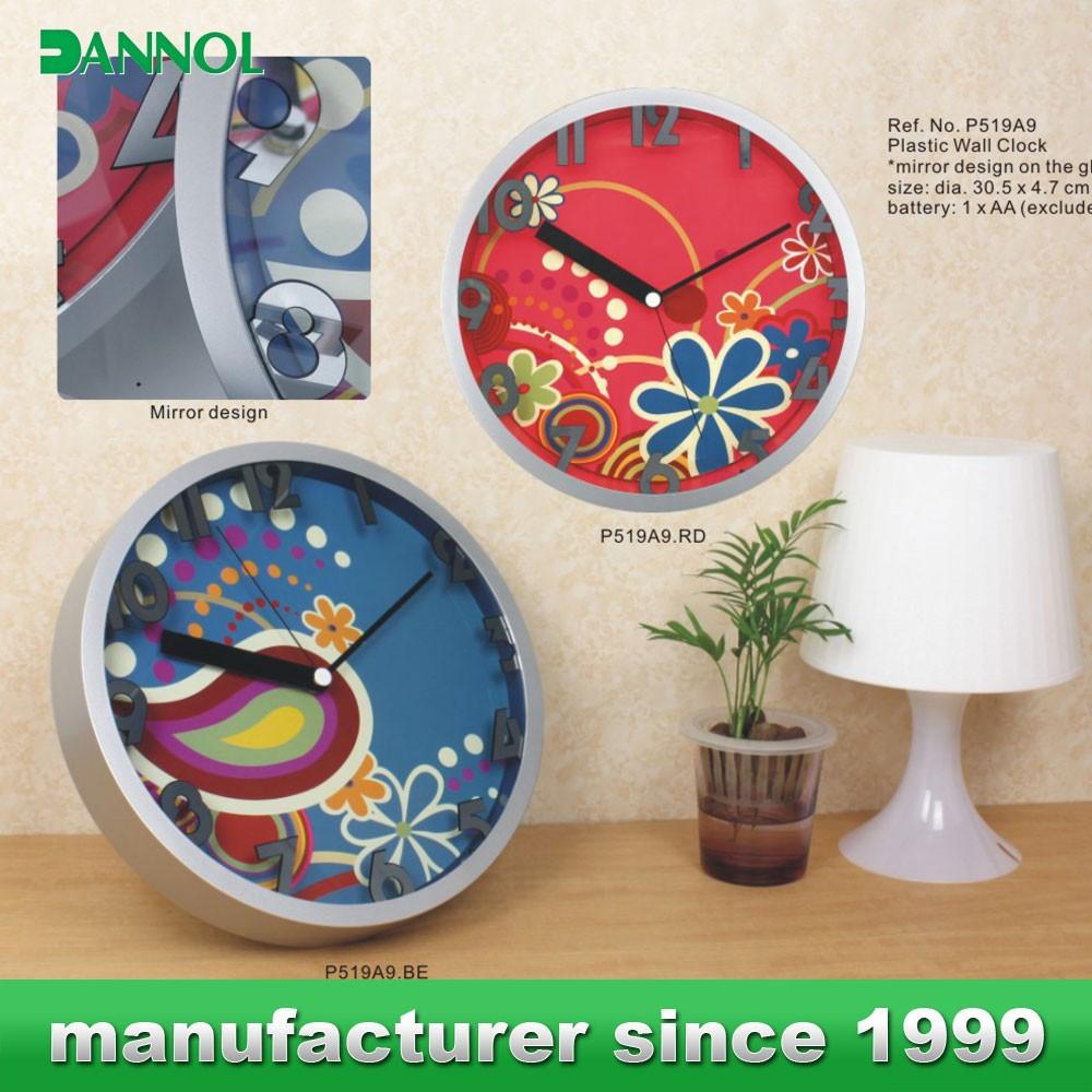 12 polegada horloge cadrans pour imprimer ostar f333 for Horloge murale 3 cadrans