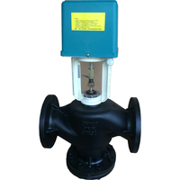 China made cheap price high quality flange motorized balance control valve