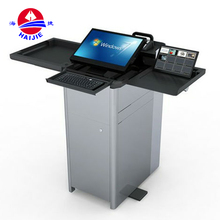 Modern Factory Sell Aluminum Lecterns,Metal Modern Lectern Podium,Adjustable Lectern