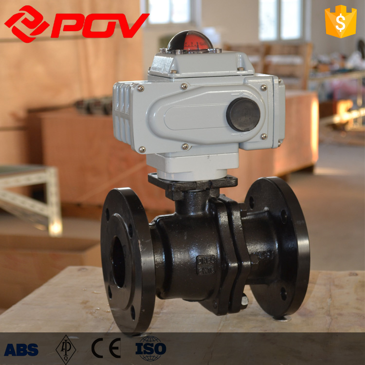 Carbon steel pipe rubber lined automatic drain ball valve