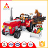 2016 new kids bricks intellect building blocks toys for the farm block tractor