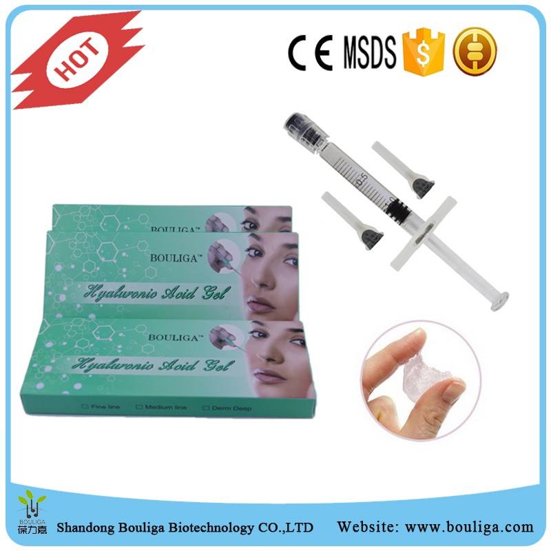 hyaluronic acid dermal filler injectable for lips/<strong>eyes</strong>/head