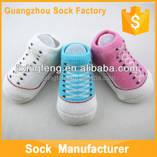 Wholesale Top Quality Cotton Soft Touch Baby Shoe Socks Baby Girls Infant Socks
