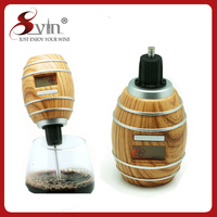 Dry Battery Operated Automatic Wine Aerator with LED Display
