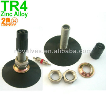 Zinc Alloy TR4 motorcycle tire valves,tube valve