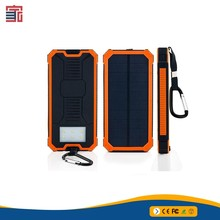 2018 Li-Polymer Battery Portable Mobile 10000mah Solar Charger Power Bank For Iphone Mobile Smart Phone