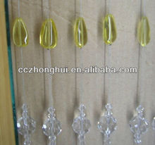 Window Doorway Treatment Crystal String Beads Curtain