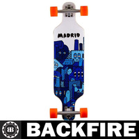 Backfire City 2 Blue Longboard Skateboard Only Professional Leading Manufacturer