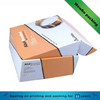 Offset printing corrugated cardboard carton box