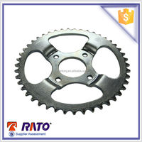 Dish single sprocket Motorcycle steel front and rear sprocket