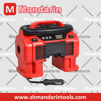 118V electric battery air pump for cars usage, battery powered car type