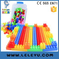New educational plastic building blocks interlocking toy set for kids