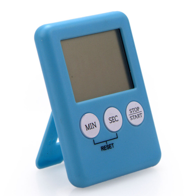 Mini Magnetic Digital Countdown Kitchen Timer with Stent