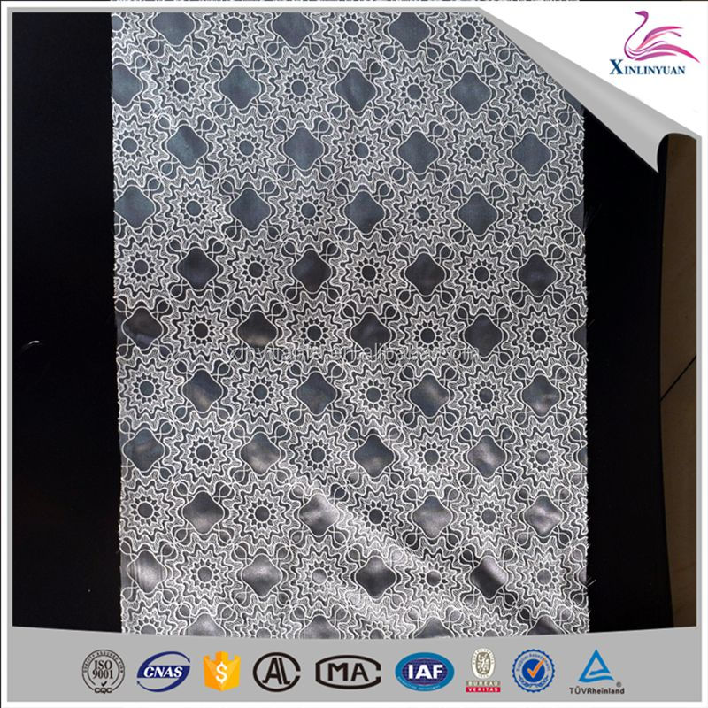 Fashion organza lace fabrics,voile african lace fabric for evening dress