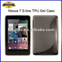 S Line TPU Gel Case Cover for Google Nexus 7