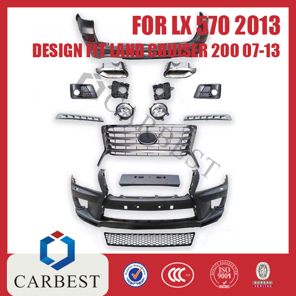 High Quality LX570 2013 SPORT DESIGN FOR Land Cruiser 200 07-13