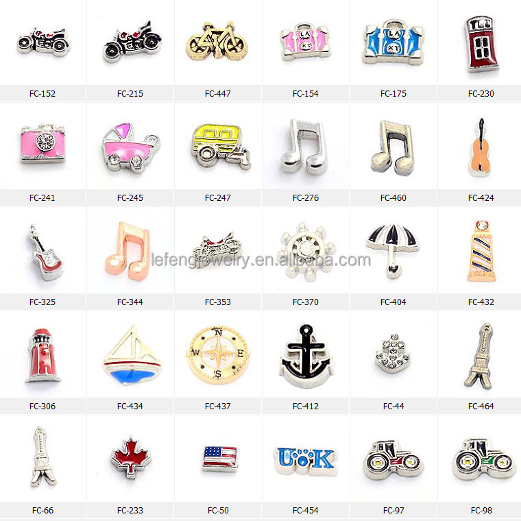 2015 custom floating locket charms,floating charms wholesale