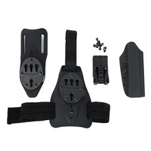 Chinese Wholesaler Tactical Gun Holster Set with Nylon panel for leg plate and waist belt
