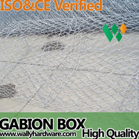Hexagonal Galvanized Gabion Wire Mesh(Factory)