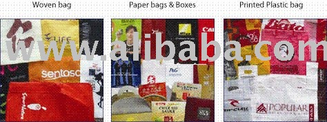 Plastic bag, Paper bags & Boxes, Woven bag