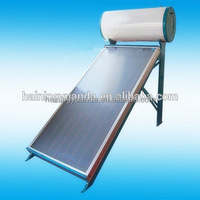 2016 New Flat Plate Collector Compact pressurized solar water heater,