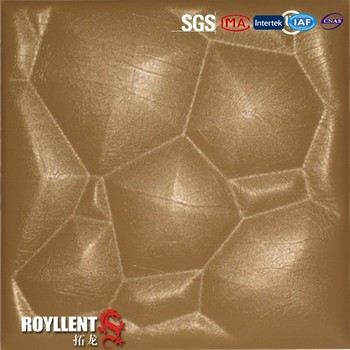 2015 new type leather 3d wall panel
