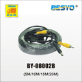 Car monitor AV connector extended cable BY-08002B BY-08002A(5M/10M/15M/20M)