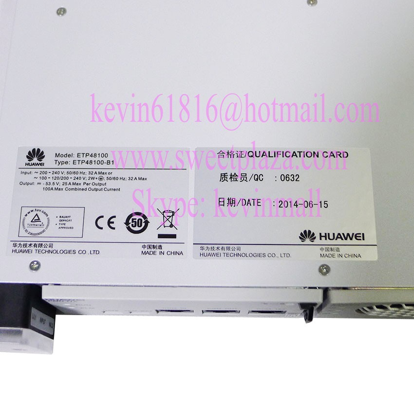 Huawei power supply ETP48100 50A AC to DC power supply for the OLT