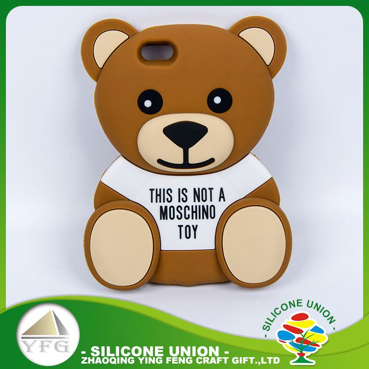 Superior toy bear mobile phone shell