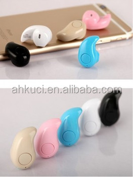 2016 new style high quality phone microphone portable wireless headphone, sport bluetooth earphone headset for mp3,mp4 cellphone