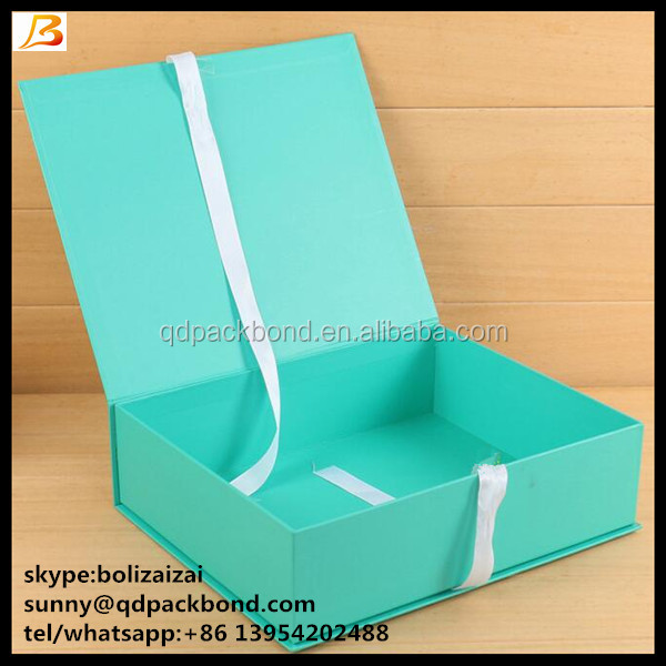 Colorful Printed Paper Cosmetic Hair Extention Packaging Box Gift Box