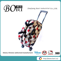 new design fancy cheap luggage bag description of travelling bag