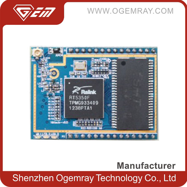 802.11b/g/n UART 1T1R AP/Router Embedded RT5350 chipset Serial to WIFI Module