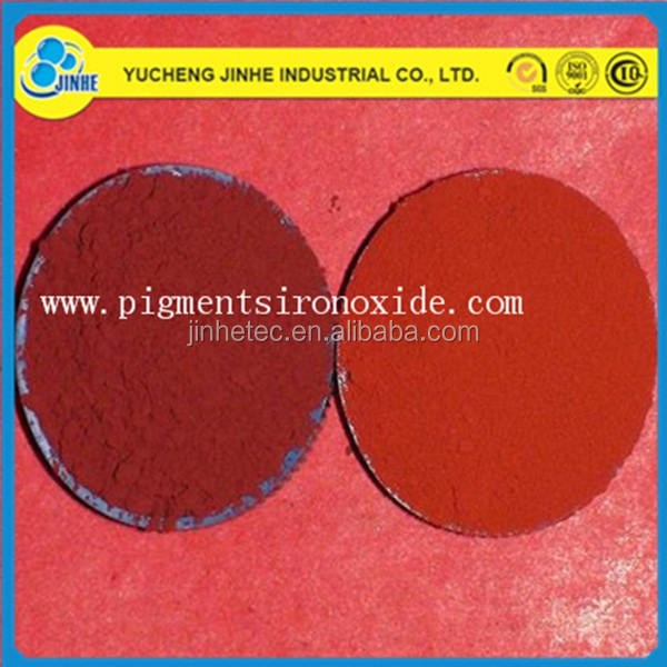 pigment iron oxide red 101 110 120 130 190 for bricks/pavers/fertilizer