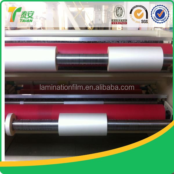 Best Price&Top Quality BOPP Thermal Laminating Film for Packaging and Printing, BOPP Thermal Lamination Film