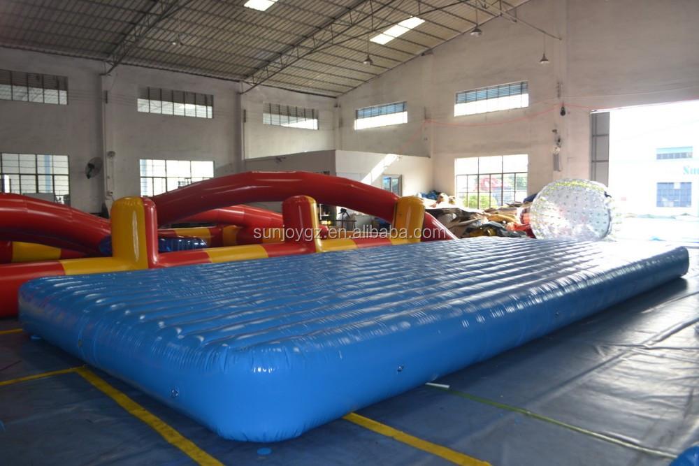 Haute qualit gonflable le flottant salon palmier gonflable le flottante - Ile flottante gonflable ...
