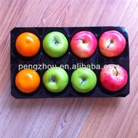 China Golden Supplier Plastic Stackable Fruit Tray