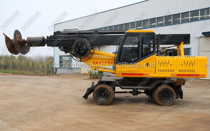 First rate factory price all new hydraulic direct rotary china drilling rig