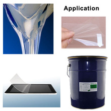 Removable PET Film Adhesive,laptop screen adhesive PET touch screen film adhesive