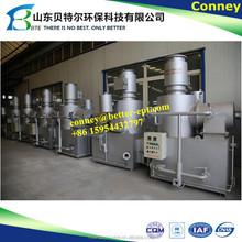 SGS certificated medical waste incinerator price, harmless household home waste incinerator