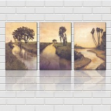 Wholesale Handmade Wall Decor Landscape Art Picture For Decor In Discount Price