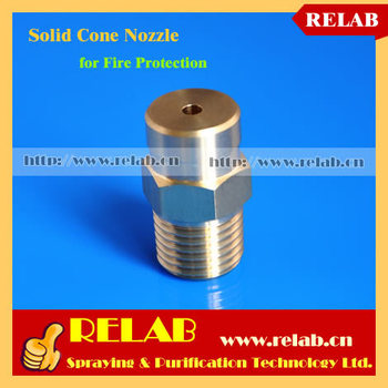 Industrial Solid Cone Water Atomizing BM Fire Protection Nozzle