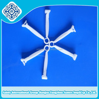 Disposable umbilical cord clamp and cotton umbilical