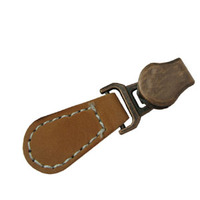 fashionable design leather zipper puller for handbags